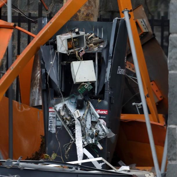 En libertad quedan dos personas que fueron acusadas de detonar un cajero automático