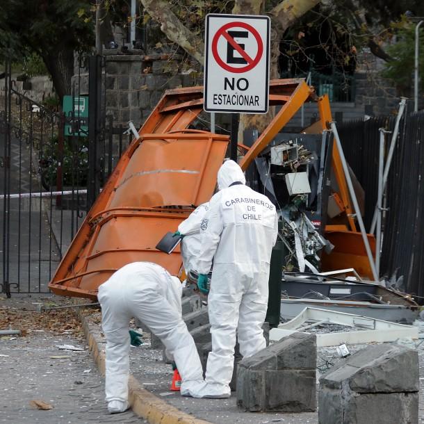 Detonación de cajero provocó estruendo percibido en varias comunas de Santiago