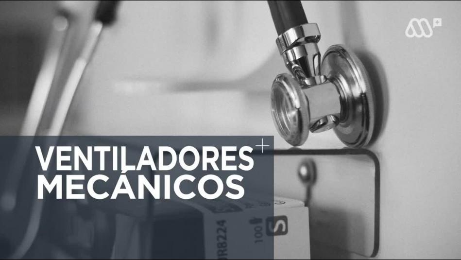 ¿Cuántos ventiladores mecánicos tiene disponibles Chile?