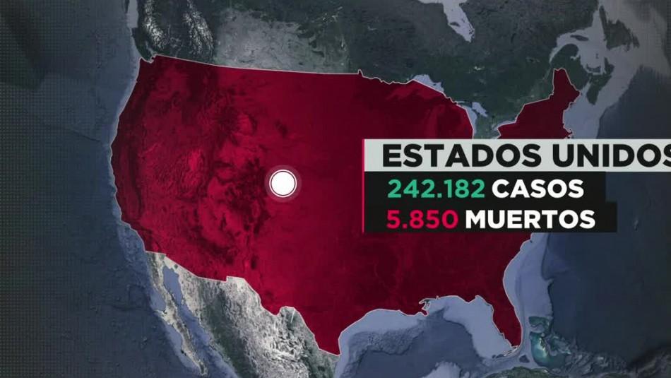 COVID-19 en Estados Unidos: Nueva York en crisis por la pandemia
