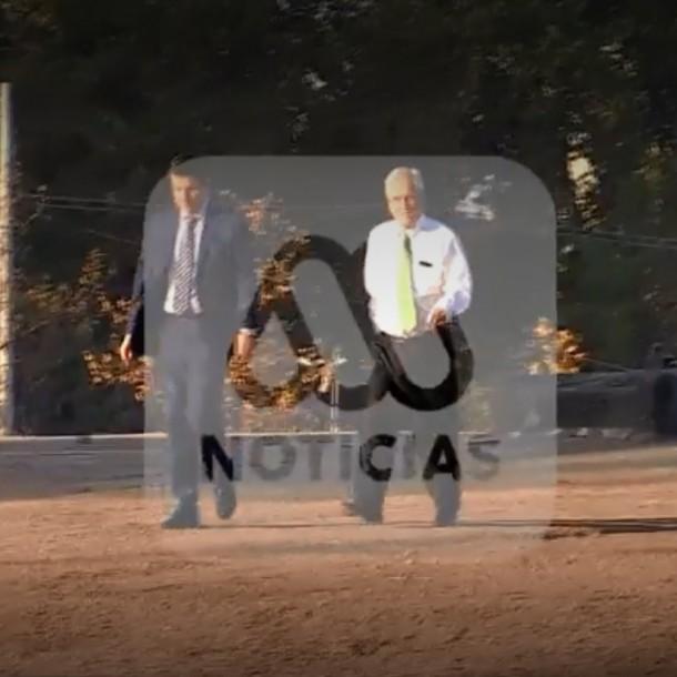 Piñera explica visita a Plaza Italia: