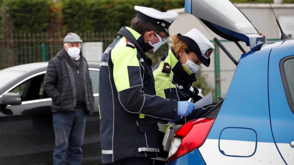 Policía italiana detiene a banda chilena por asaltar a anciana en su casa durante cuarentena