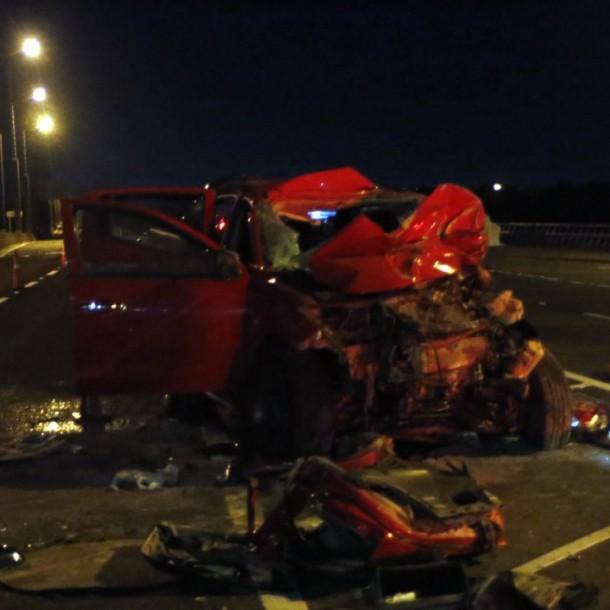 Automovilista pierde la vida tras eludir cordón sanitario y chocar con camión militar en Concepción