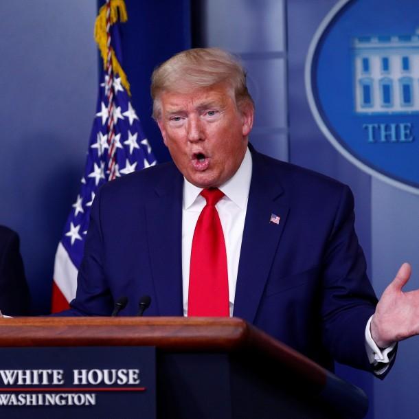 Trump y COVID-19 en EEUU: