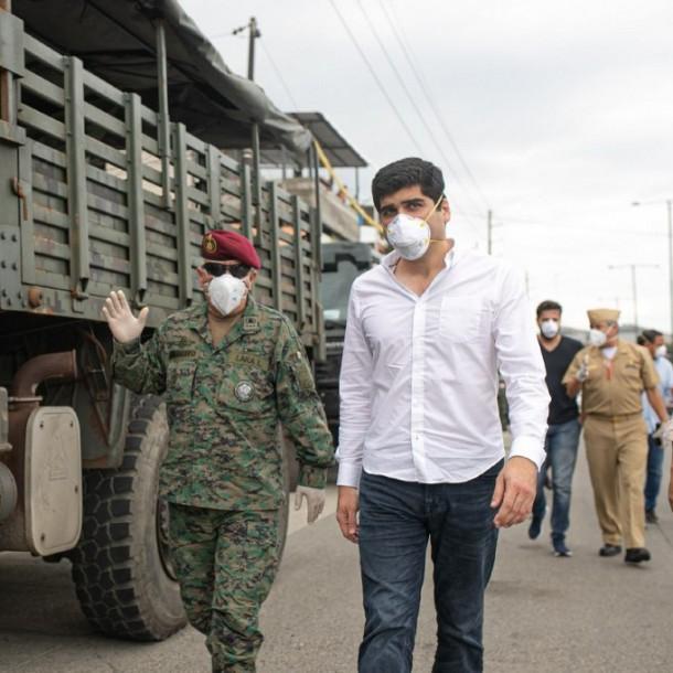 Vicepresidente de Ecuador se disculpa por manejo de muertos durante pandemia