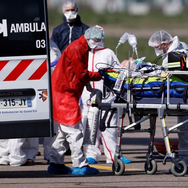 La cifra más baja en una semana: Francia registra 357 muertos en un día por coronavirus