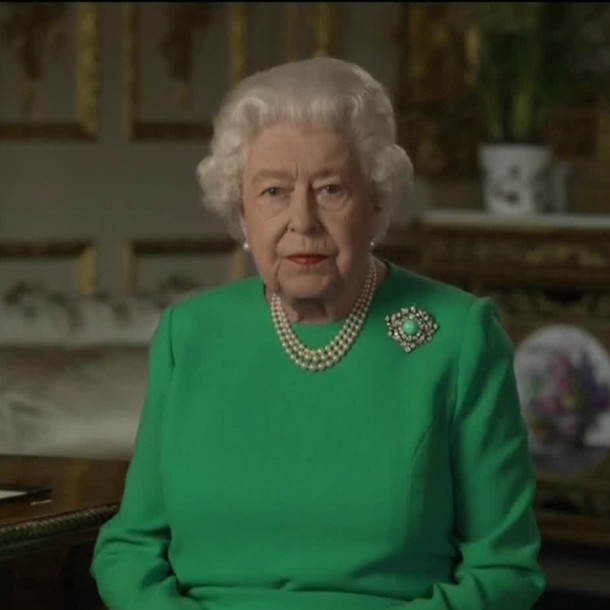 Discurso de la Reina Isabel II: Agradece al personal de salud y asegura que se vencerá al COVID-19