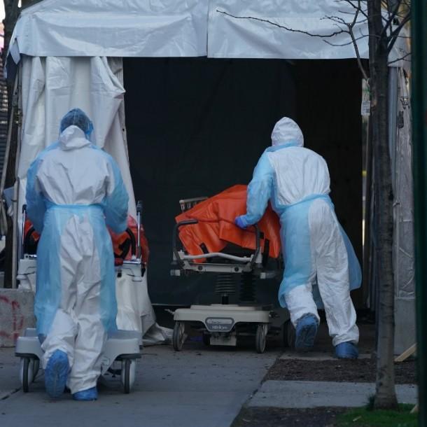 Estados Unidos registra más de 10 mil muertes por coronavirus