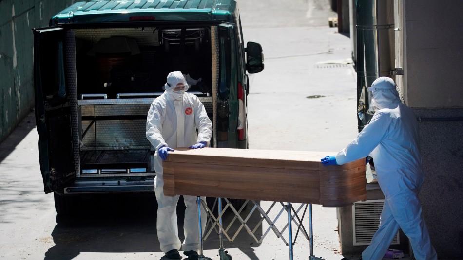 España: Disminuye cifra de muertos por coronavirus por cuarto día consecutivo