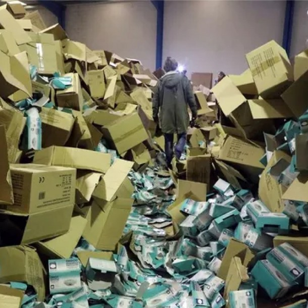 Empresario es detenido por robar dos millones de mascarillas y material sanitario en España