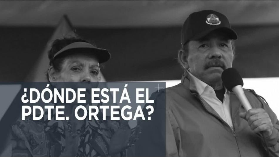 Nicaragua: ¿Dónde está el presidente Daniel Ortega?