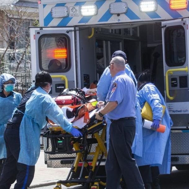 Estados Unidos registra casi 2 mil muertes por coronavirus en 24 horas