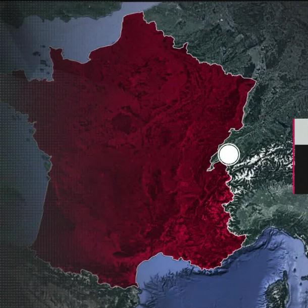 COVID-19 en Francia: Supera los 10.300 muertos por la pandemia