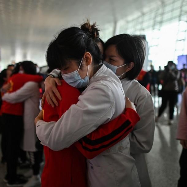 Vuelve a la vida: Las imágenes de Wuhan tras el fin del confinamiento