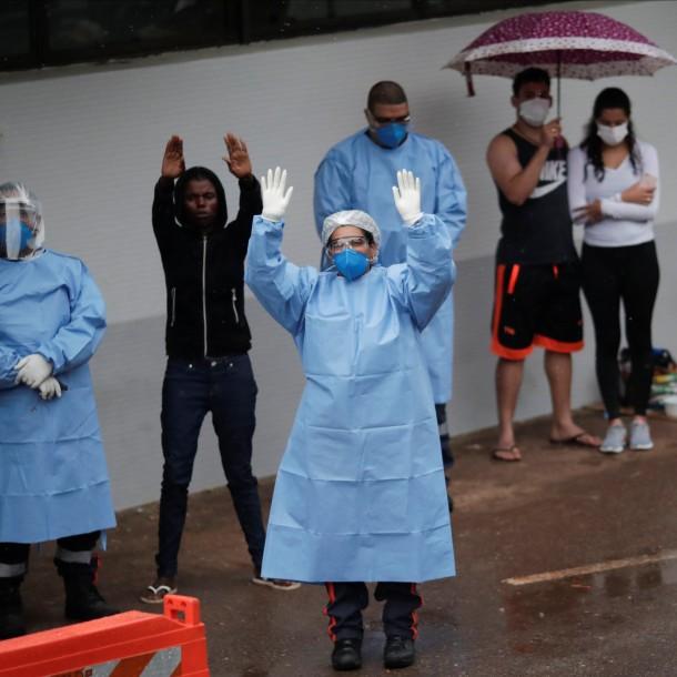 Brasil se debate entre el coronavirus y el hambre en las poblaciones más pobres