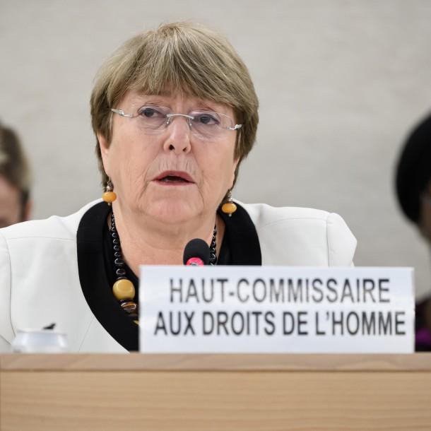 Bachelet señala que en algunos países