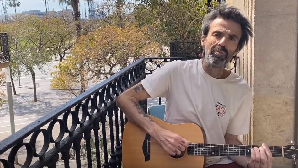Vocalista de Jarabe de Palo reaparece públicamente tras más de un año aquejado por cáncer