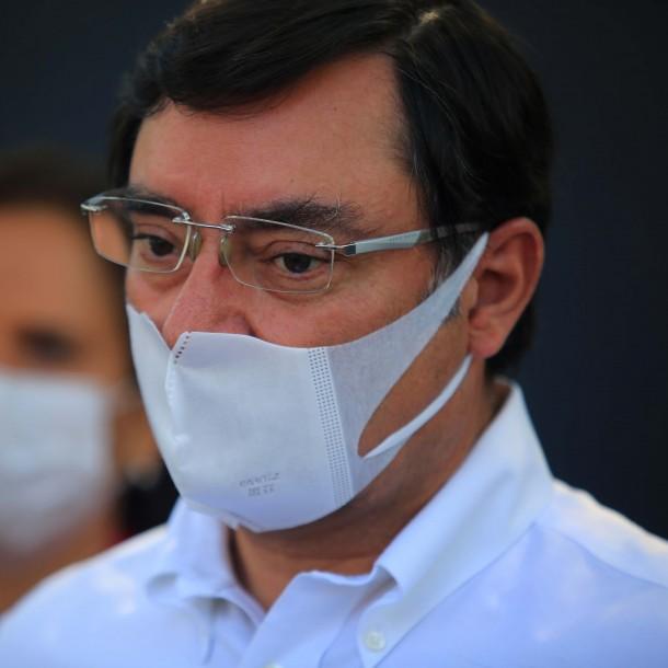 Cordón Sanitario en la RM: Intendente Guevara realiza balance tras sobrevuelo con Carabineros
