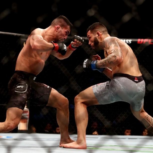 La UFC descarta reanudar combates en una isla privada por petición de cadena deportiva