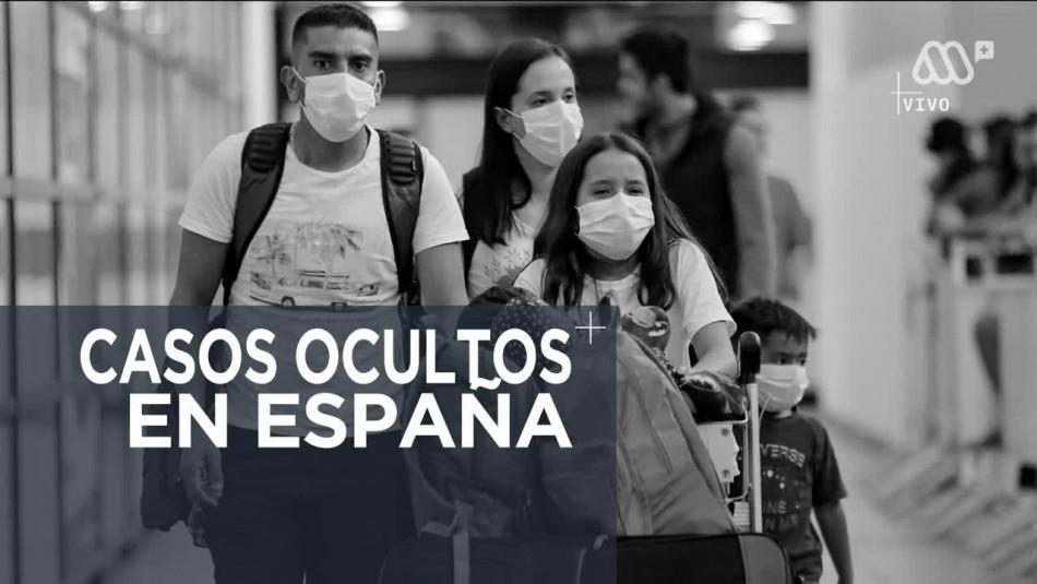 Los casos ocultos de COVID-19 en España