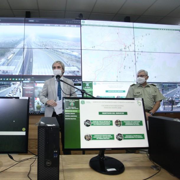 Balance del Gobierno: 41.000 mil vehículos han salido de la RM y se inició sumario contra tres aeronaves