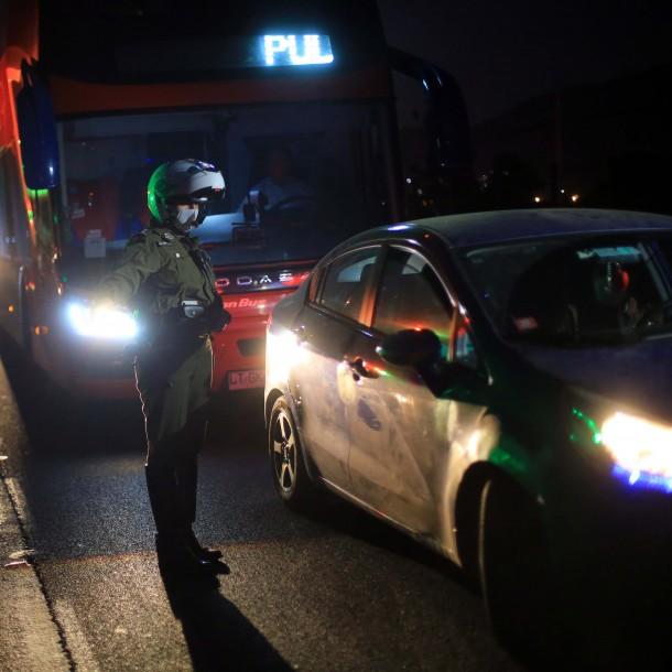 Semana Santa: 262 vehículos no respetaron el cordón sanitario y fueron devueltos