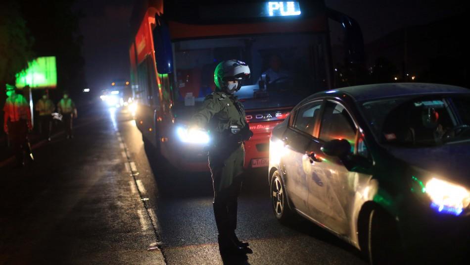 Semana Santa: 262 vehículos no respetaron el cordón sanitario y ...