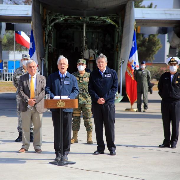 Lo más visto: Presidente Piñera denunciará a quienes no respeten cordones sanitarios