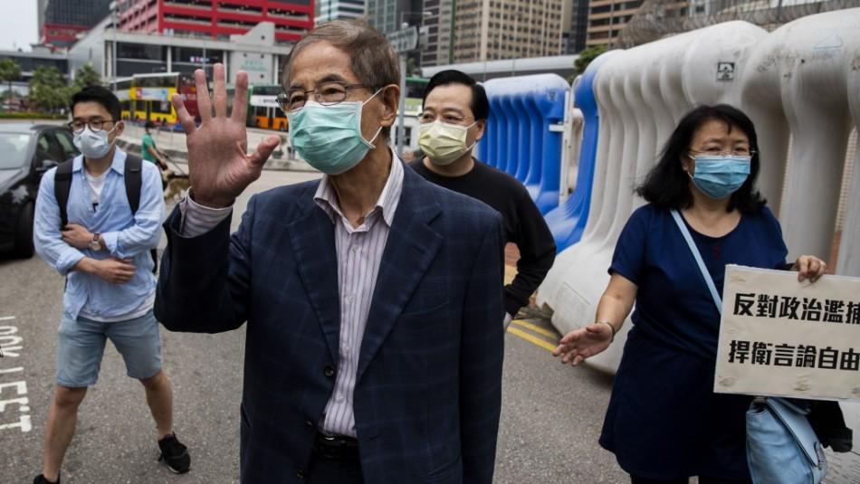Redada en Hong Kong contra líderes prodemocracia de 2019