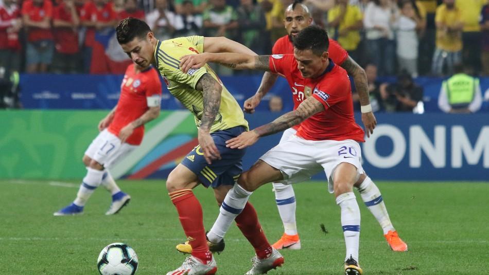 La Roja choca ante Colombia por Eliminatorias.