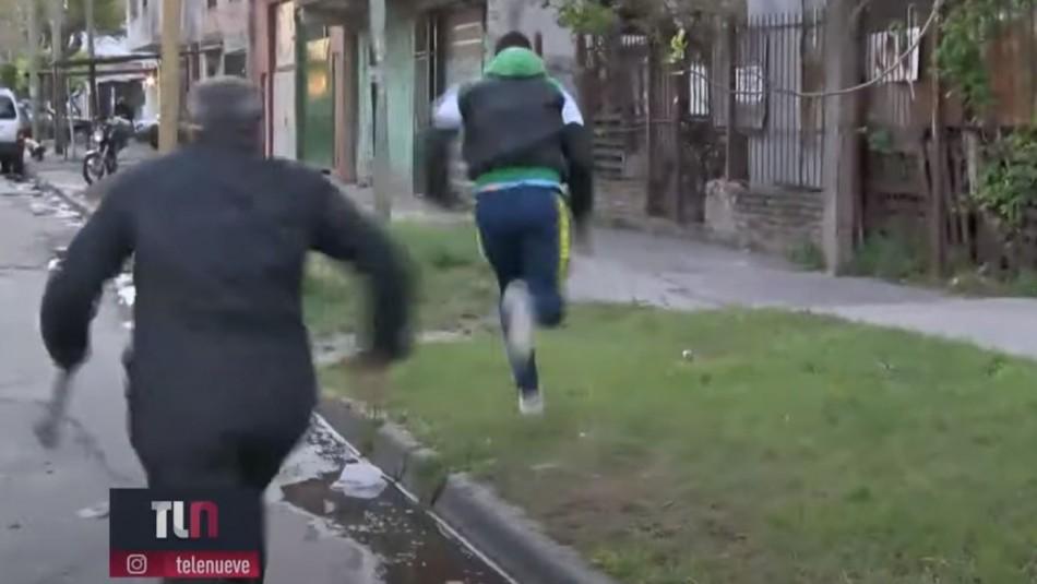 Periodista argentino es víctima de robo justo antes de aparecer en vivo