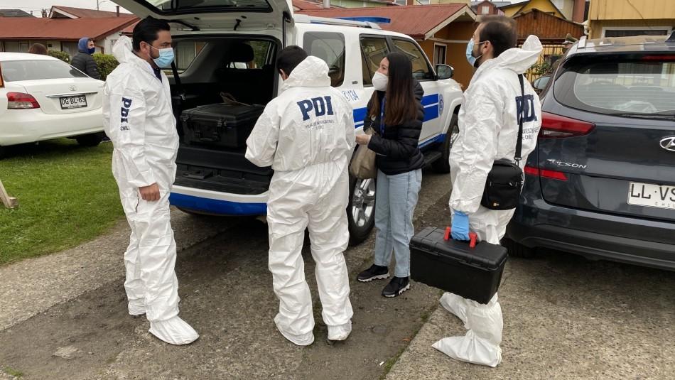 Femicidio de joven en Valdivia: Presunto autor está hospitalizado y detenido