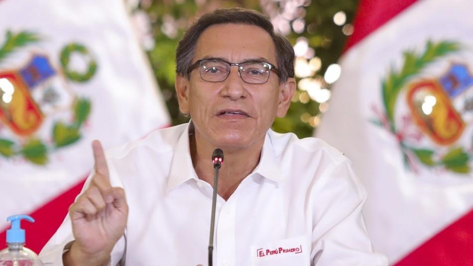 Nuevo problema para Vizcarra: Mensajes revelarían reuniones con quienes lo acusan de corrupción