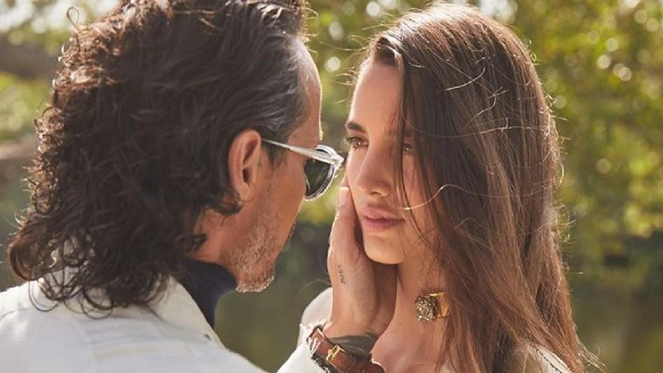 Marc Anthony publica foto con modelo de 24 años y enciende rumores de una posible relación