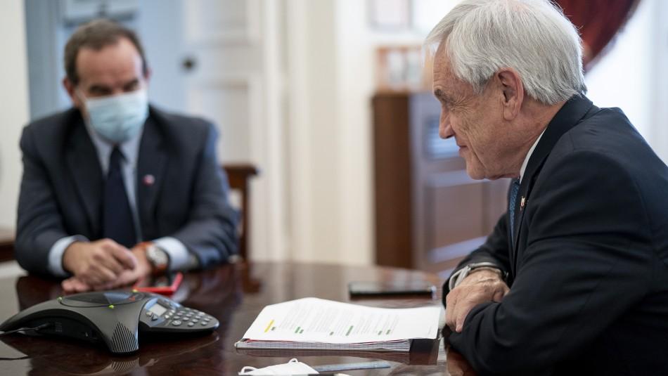 Sebastián Piñera conversa con Joe Biden sobre la pandemia y la situación económica mundial
