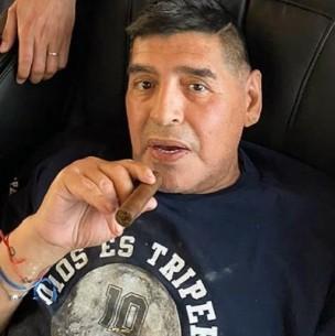 El último post de Diego Armando Maradona en Instagram