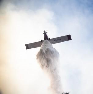 Colusión: Fiscalía Nacional pide sanciones para empresas de aviones de combate de incendios