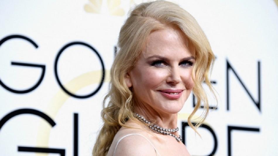Nicole Kidman presenta por primera vez a sus hijas menores Sunday y Faith en los Globos de Oro