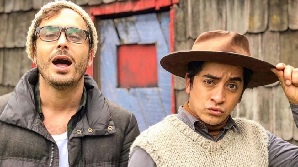 La reacción de Nico Oyarzún tras ver a su amigo Fernando Godoy como 'Carlitos Chayanne'