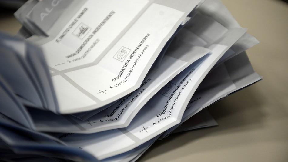 Lista de candidatos a constituyentes Distrito 19