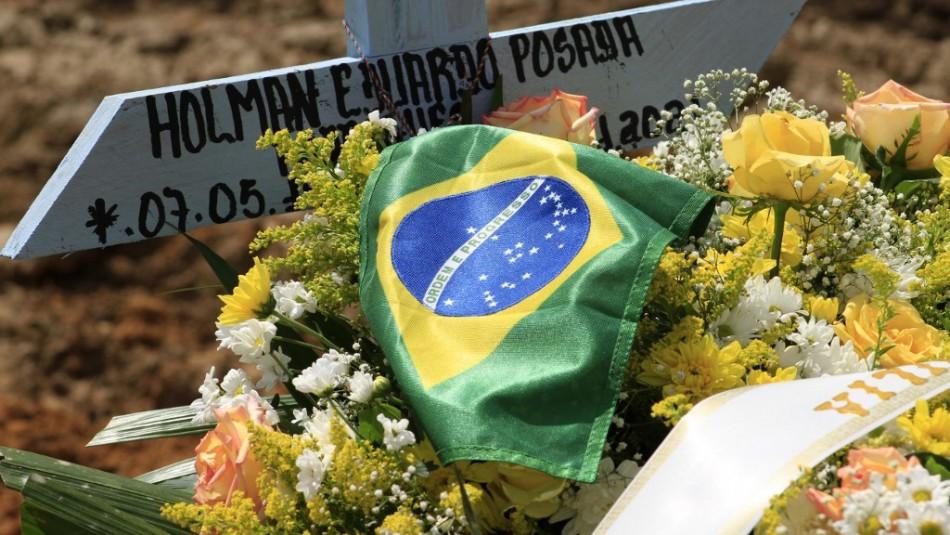 Brasil registra cifra récord de más de 1.600 muertos por coronavirus en un día