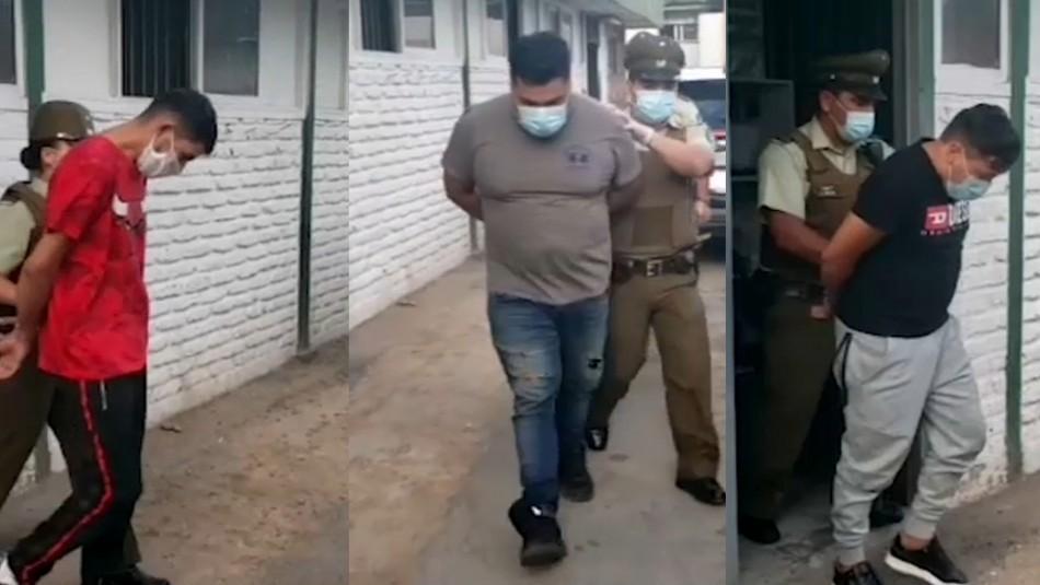 Detienen a tres sujetos por robo a camión con poleras avaluadas en casi $30 millones