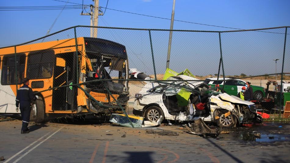 Dos personas murieron en trágico accidente vehicular ocurrido en la comuna de Puente Alto