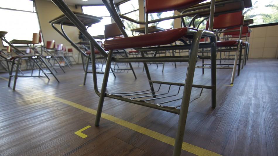 Año escolar: Los colegios que suspendieron clases presenciales por casos de coronavirus
