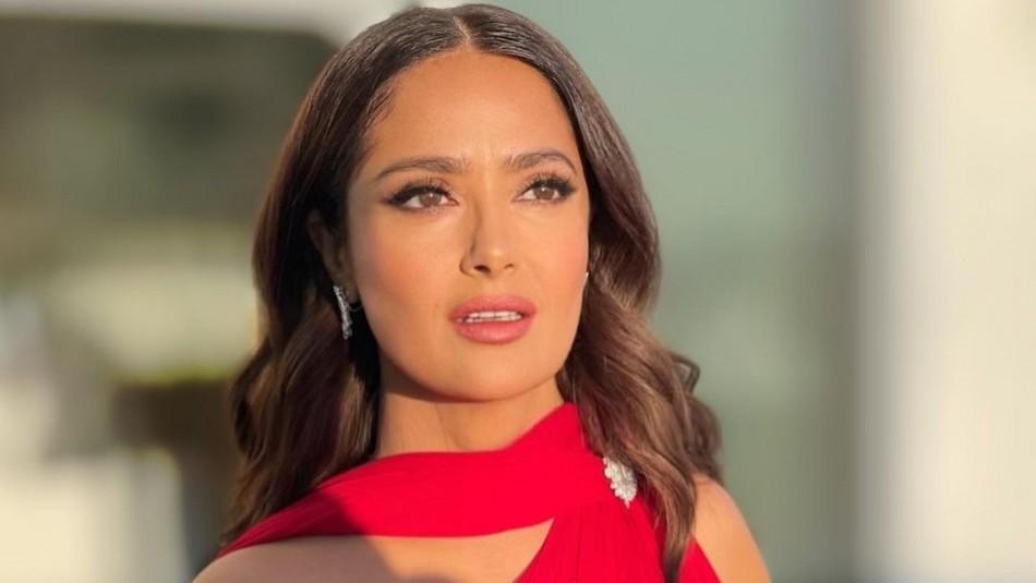 Salma Hayek habría tenido un romance con cantante de la agrupación mexicana