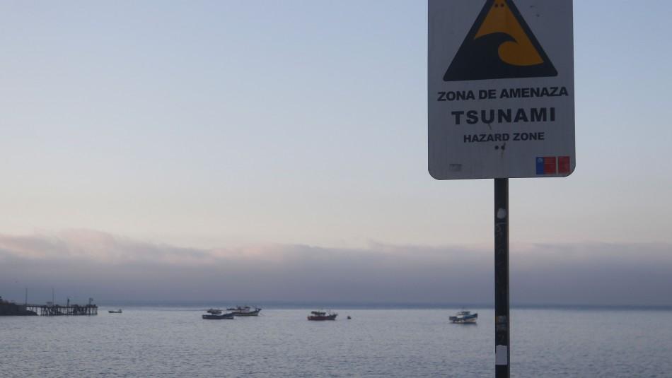 Onemi canceló el Estado de Precaución para el borde costero del territorio nacional