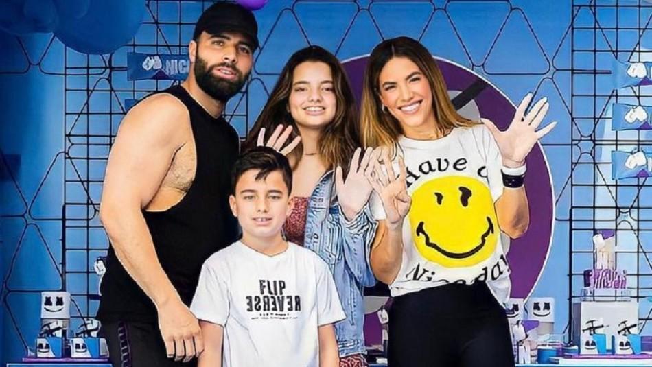 Critican fiesta de cumpleaños del hijo de Jencarlos Canela y Gaby Espino y ella responde