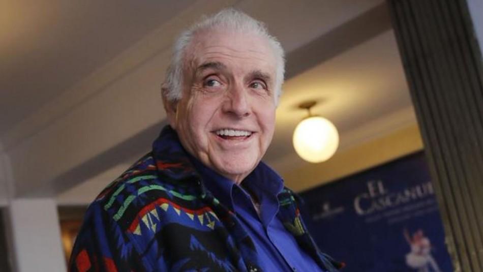Actor Tomás Vidiella está hospitalizado tras contagiarse de coronavirus
