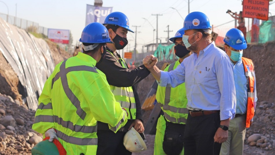 MOP adelanta 155 obras públicas para acelerar la recuperación de empleos 9.3.2021