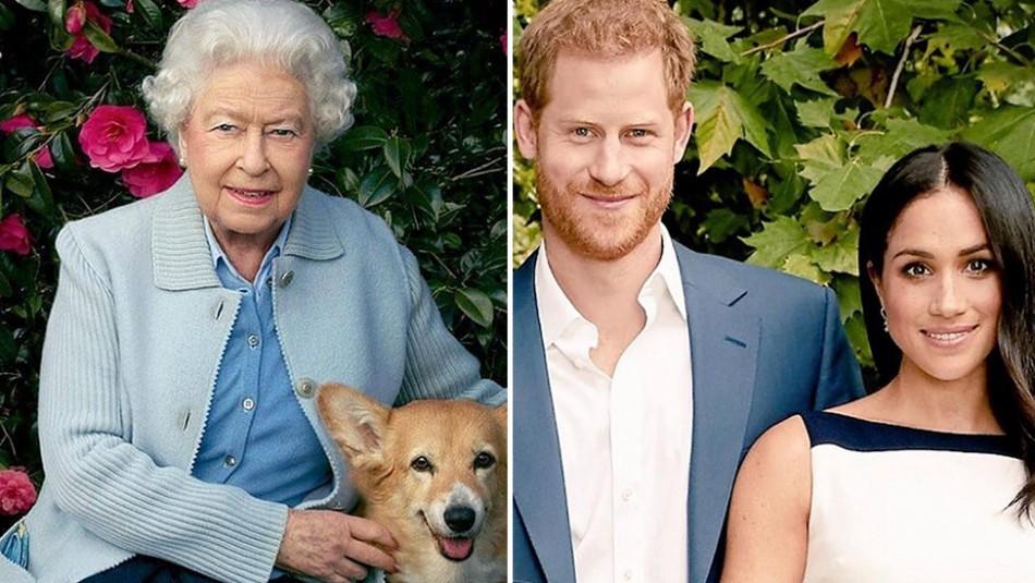 Esto hizo la reina Isabel II tras las explosivas declaraciones de Harry y Meghan Markle